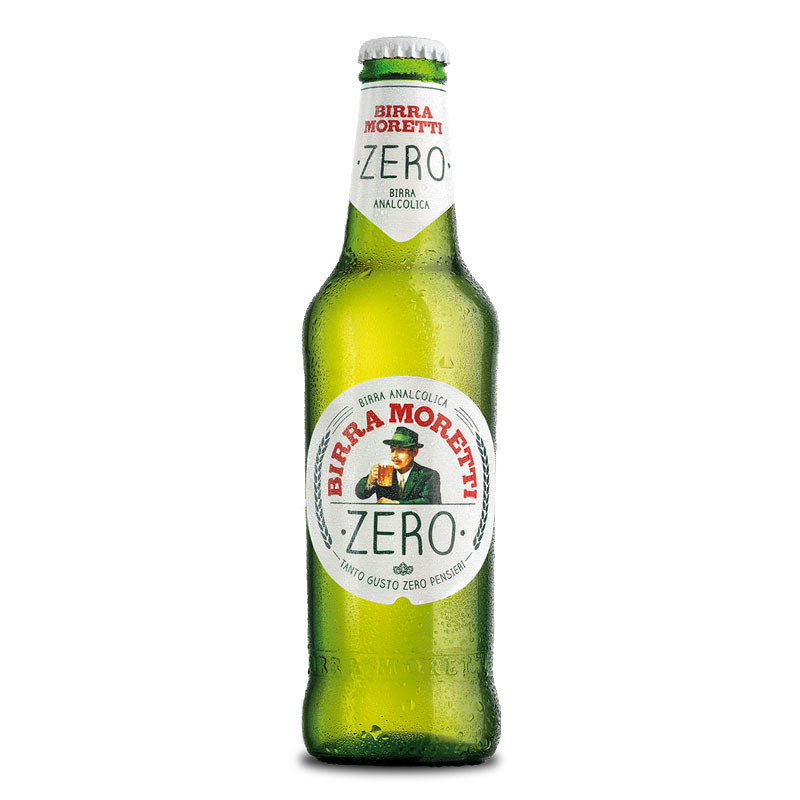 Moretti Zero Non Alcoholic Beer From Italy Moore Wilson S