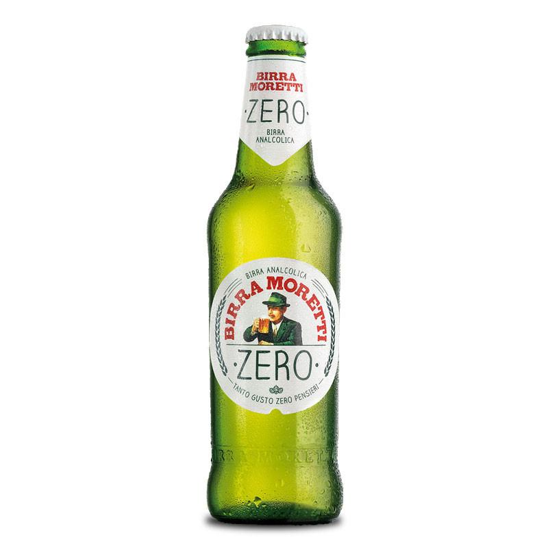 Moretti Zero Non Alcoholic Beer From Italy Moore Wilson S