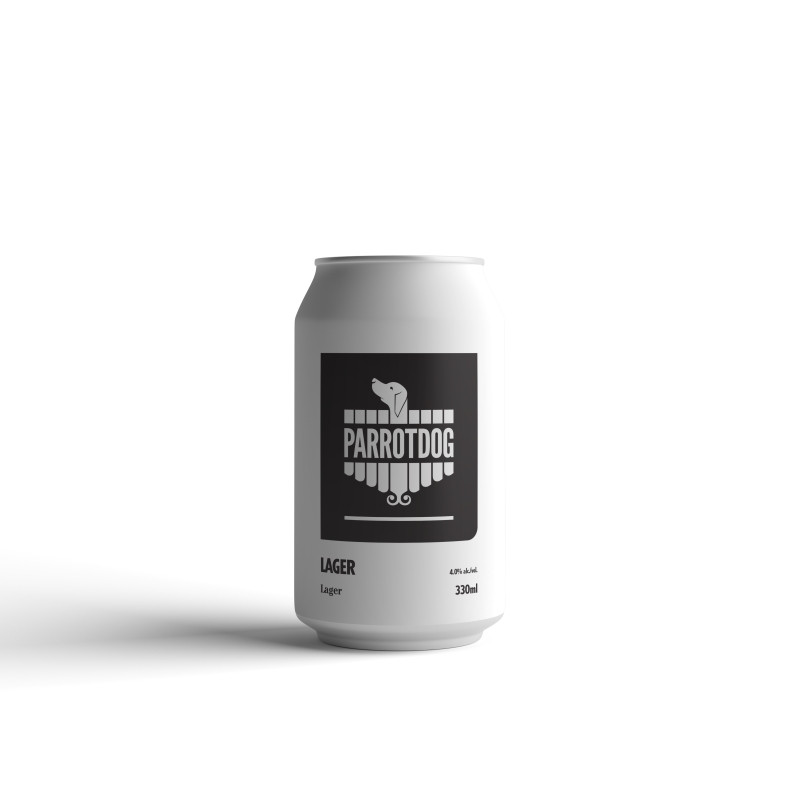 Parrotdog LAGER 330ml 12 pack cans, craft beer from