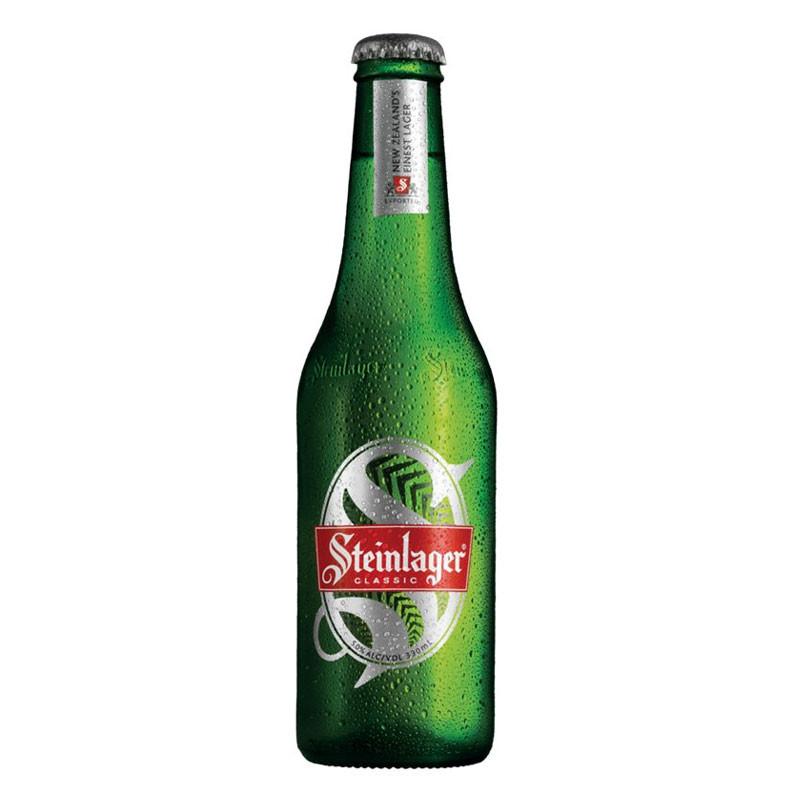 Steinlager Classic 330ml 24 pack - top-selling NZ beer - Moore Wilson ...