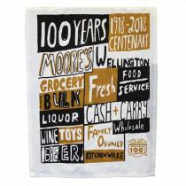 Moore Wilson's 100 Year Teatowel
