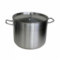 Stockpot Stainless Steel 20L