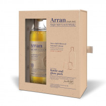 Arran 10 Year Old gift pack with 2 glasses