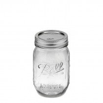 Ball Regular Mouth Pint Glass Preserving Jars