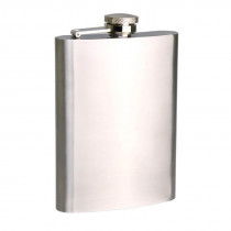 Bartender Stainless Steel Hip Flask