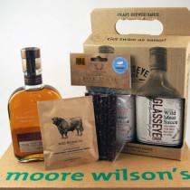 Moore Wilson's Bourbon & BBQ Sauce Gift Pack