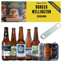 Wellington Breweries Craft Beer Pack + Speed Opener + Burger Wellington