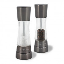 Cole & Mason Derwent Gun Metal Gourmet Precision+ Salt & Pepper Mill Set
