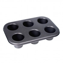 D-Line Non-stick 6 Cup Dariole Mould