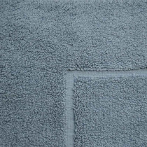 Baksana Aegean Denim Blue Bath Mat