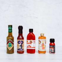 New Zealand Made Hot Sauce Pack
