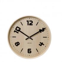 Karlsson-Pure-Wood-Clock