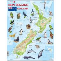 Larsen Map of New Zealand Puzzle
