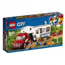 Lego City Pick Up & Caravan