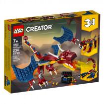 Lego Creator 3 in 1 Fire Dragon