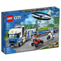 Lego City Police Helicopter Transporter