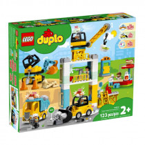 Lego Duplo Tower Crane & Construction
