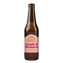 Moa Rhubarb Apple Cider