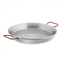 Red Handle Paella Pan