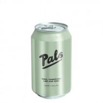 Pals Vodka Hawkes Bay Lime & Soda
