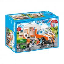 Playmobil Ambulance with Flashing Lights