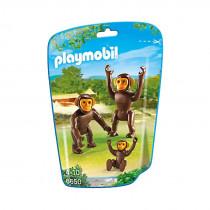 Playmobil-6650-Chimpanzee-Family