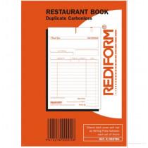 Rediform Restaurant Book Duplicate