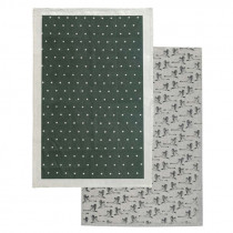 Raine & Humble 2 Pack Green Tea Towel