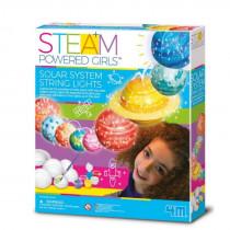 Steam Powered Girls Solar System String Light