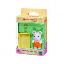 Sylvanian Marshmallow Mouse Baby
