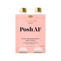 Posh AF Pink Grapefruit & Rose Alcohol Free 'G&T'