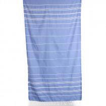 Pestemal Turkish Bath Towel - Ocean Blue