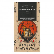 Wellington Chocolate Factory Scapegrace Gin Dark Chocolate Bar