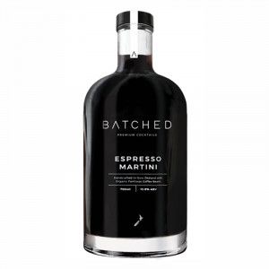 Batched New Zealand Espresso Martini