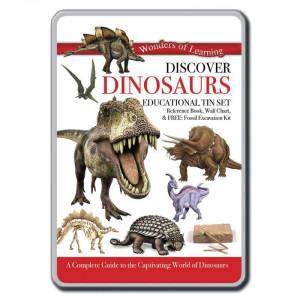 Discover Dinosaurs Tin Set