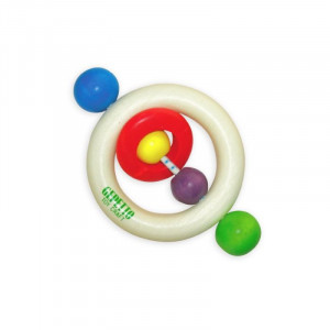 Gepetto Bead Teeth Ring Boxed