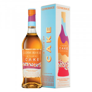 """Glenmorangie """"A Tale Of Cake"""" Highland Single Malt Scotch Whisky"""