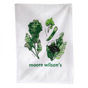 Moore Wilson's Leafy Greens Cotton Tea Towel