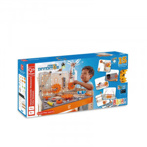Hape Junior Inventor Deluxe Scientific Work Bench