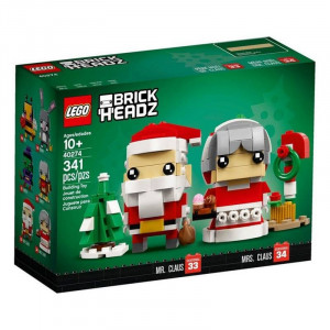 Lego BrickHeadz Mr & Mrs Claus