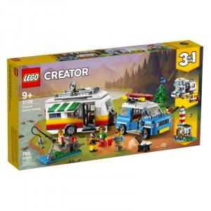 Lego Creator 3 in 1 Caravan Family Holiday