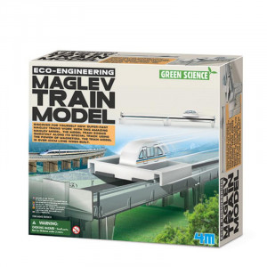 Eco-Engineering MagLev Train Model