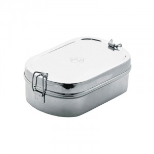 Meals In Steel Jumbo Lunchbox Oval