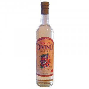 Divino Mezcal With Worm