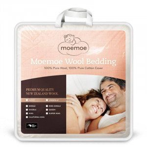 Moemoe 100% Wool Duvet King Single