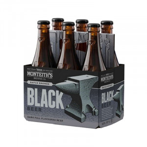 Monteiths Black 330ml 6pack