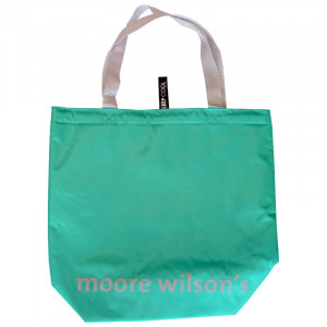 Moore Wilson's Green Thermo Bag