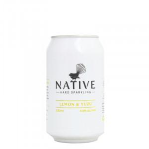 Native Hard Sparkling Lemon & Yuzu