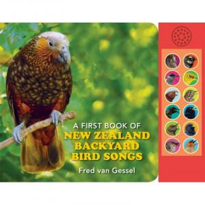 A First Book Of New Zealand Backyard Bird Songs