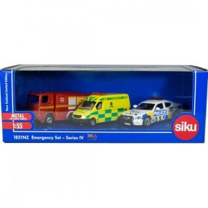 Siku NZ Emergency Set - Series IV